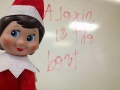 Elf in the classroom ideas!