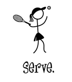 Serve Like A Girl Tennis Youth Burnout Tee.  by KSRunLikeAGirl, $22.00