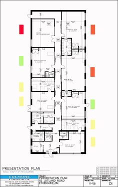 daycare center floor plan - ideas. this layout was chosen because