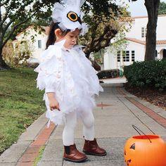 DIY Owl Halloween Costume Idea