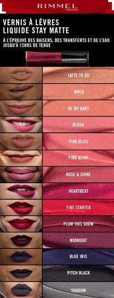 Vernis à Lèvres Liquide Stay Matte