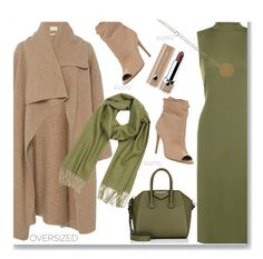 """""""Chic Oversized Coat'"""" by dianefantasy ❤ liked on Polyvore featuring WearAll, Givenchy, Mila Schön, Burberry, Marc Jacobs, polyvorecommunity, polyvoreeditorial and oversizedcoats"""