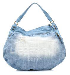 wardow.com -#liebeskind, Denim Bags VegaA Tote blue 49 cm