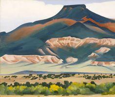Georgia O'Keeffe. Pedernal - 1941