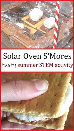 With this simple summer STEM activity, you can show the kids how to make solar oven s'mores at home. Stem For Kids, Summer Activities For Kids, Stem Activities, Summer Kids, Creative Activities, Learning Activities, Science Experiments Kids, Science For Kids, Oven Smores