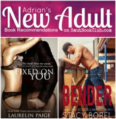 Best New Adult Books: Fixed on You, Bender http://smutbookclub.com/best-new-adult-books-april-24/