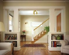 fascinating half wall room divider for interior design: bulb
