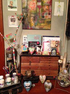 My art studio- Chasity Heck