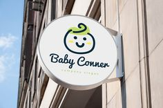 Baby Logo by Super Pig Shop on @creativemarket                              …