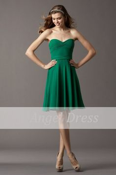 Green prom dress 2014/ short prom dress/ short by angeldress2014, $82.00