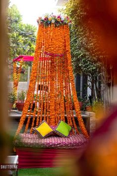 Useful Wedding Event Planning Tips That Stand The Test Of Time Indian Wedding Decorations, Wedding Ceremony Decorations, Flower Decorations, Indian Weddings, Wedding Mandap, Garland Wedding, Event Planning Tips, Wedding Planning, Wedding Ideas