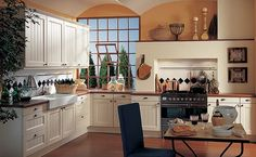 Classic design of Pronorm kitchen
