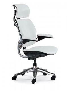 White Ergonomic Office Chair