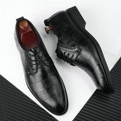 men dress shoes - Page 7 of 7 - BeFashionova Business Shoes, Black Dress Shoes, Office Shoes, Oxford Flats, Men Formal, Formal Shoes, Types Of Shoes, Black And Brown, Men Dress