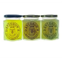 Classic Honey Collection: Raw, Creamed Clover and Lemon Honey, yum! $28.95 NZD