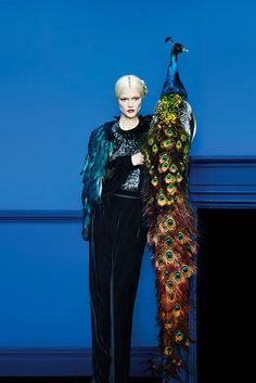Erik Madigan Heck Lenses 'Art of Fashion' for Neiman Marcus - Tom Ford gown