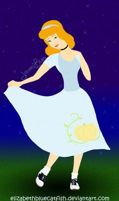 Cinderella of the 1950s by ~elizabethbluecatfish on deviantART
