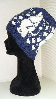 Ida Amalies Hobbykrok: Mummitrollet Knitting Wool, Fair Isle Knitting, Knitting Patterns, Hat Patterns, Knitted Hats, Crochet Hats, Drops Design, Mittens, Needlework