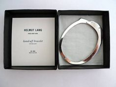 To know more about Helmut Lang Handcuff Bracelet, visit Sumally, a social network that gathers together all the wanted things in the world! Featuring over 843 other Helmut Lang items too! Helmut Lang, Dandy, Pinup, Move Over, Look 2015, Fashion Blogger Style, Looks Cool, Heart Pendant Necklace, Dieselpunk