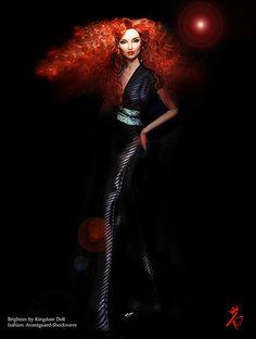 Brighton Disco Queen. Red hair. Fashion dolls
