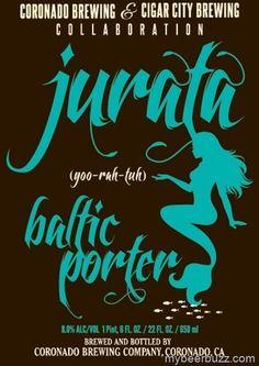 Coronado Brewing / Cigar City - Jurata Baltic Porter