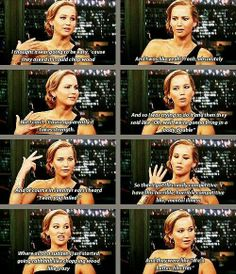 Jennifer Lawrence is so competitive!! :)