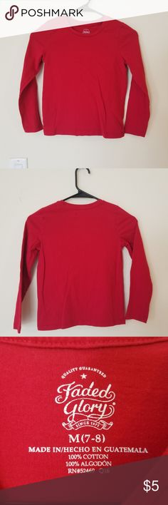54dcac9f Rich Crimson Tee!! Wore once for a Valentine's Day thing at school, great