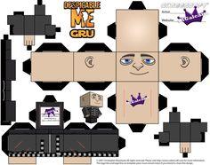 Cubeecraft paper model