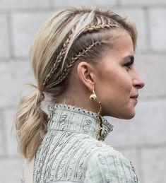 04ae7d36 Street style bijoux à la sortie des défilés automne-hiver 2018-2019 de Paris