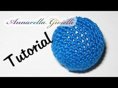Tutorial | Rivestire perla all'uncinetto | Crochet bead - YouTube