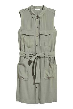 Sleeveless shirt dress | H&M