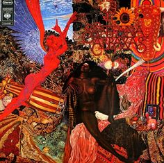 SANTANA - Abraxas -- probably picked up a vinyl copy from the EPL...