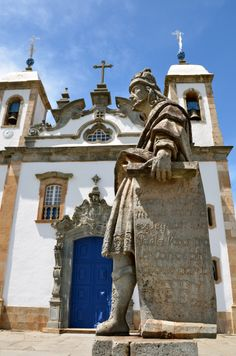UNESCO World Heritage Site.                         Masterpeice of Aleijadinho (1738-1814) Sanctuary of Bom Jesus do Congonhas, BRAZIL