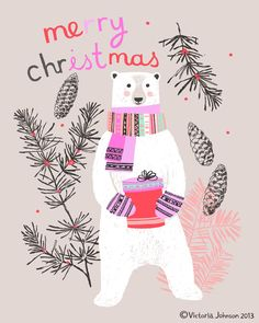Polar Bear Victoria Johnson Design