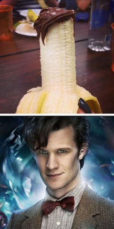 The resemblance is uncanny. 11. Doctor Who