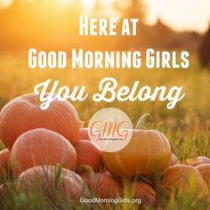 3 Times a year we regroup at Good Morning Girls​.  This week is the TIME!!!  You DO NOT have to have a group to join our on-line Bible study but we love community and we have groups ready and waiting with arms open WIDE for you!  You Belong!  To join a group, find the link to the Leader's Facebook Group, or for more details for the next session...including what's happening at GMG International - click on over!  You don't want to miss this!  All are welcome!  Invite your friends and join us!