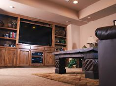 Built-in entertainment center BIC Construction, Parker, CO