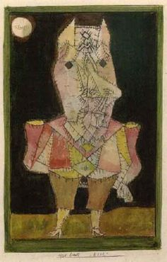 Paul Klee (1879-1940), Esel (Donkey), 1925 (83b). Ink and watercolour on paper on board. 20.32cm H x 12.7cm W.