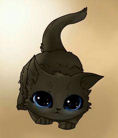 Cute cars illustration draw gatos 55 ideas for 2019 Kitten Drawing, Cute Cat Drawing, Cute Animal Drawings, Kawaii Drawings, Cute Drawings, Drawing Art, Drawings Of Cats, Chat Kawaii, Kawaii Cat