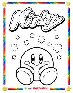 266 Best Kirby Nintendo Printables Images Kirby Nintendo Paper