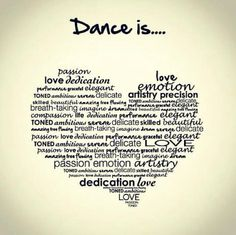 #Dance is life's best transferable skills...