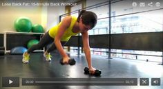 15-Minute Back Workout: improve your posture, and stave off pain with this routine that targets your upper and lower back muscles