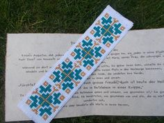Bookmark Cross Stitch traditional pattern by CamisTheCrossStitch