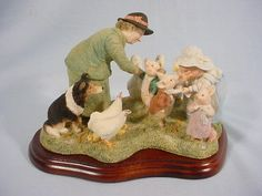 Limited Edition of 500 Border Fine Arts Beatrix Potter and Friends tableau.