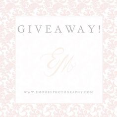 "GIVEAWAY!! So excited for such an amazing start to 2017 we are celebrating by giving away a FREE hour-long mentoring session to one lucky photographer! The winner will be announced next Wednesday February 1st! Must be willing to travel to Lancaster) Rules :: 1. Anyone can enter! 2. You must follow Elizabeth Moore Photography on Facebook & on Instagram  3. You must ""like"" this post 4. You must tag 5 friends who would also be interested in a mentoring session! This post is not associated with…"