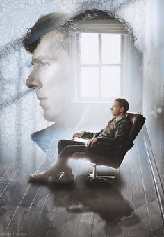 A room in his mind palace. - #Sherlock and John