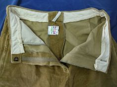 Cord is a warm, hardwearing and low noise trouser material, these are land army style breeches.... although I don't think I'd go that far up the leg ;) http://img.auctiva.com/imgdata/1/6/6/1/6/0/6/webimg/598085867_tp.jpg