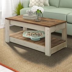 Coffee Table Base, Solid Wood Coffee Table, Unique Coffee Table, Rustic Coffee Tables, Coffee Table With Storage, Diy Coffee Table Plans, Coffee Table From Pallets, Refinished Coffee Tables, Pallette Coffee Table