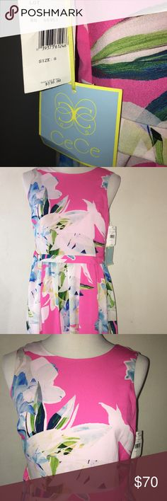 New Cece for Anthropologie Rainbow Pink Dress - 0 New Cece rainbow pink dress in women's size 0. Anthropologie Dresses Mini