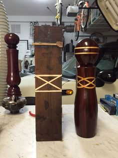 Just Finished Salt/Pepper Mill - Woodworking Talk - Woodworkers Forum